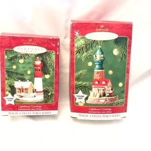 2 Hallmark Series Ornaments